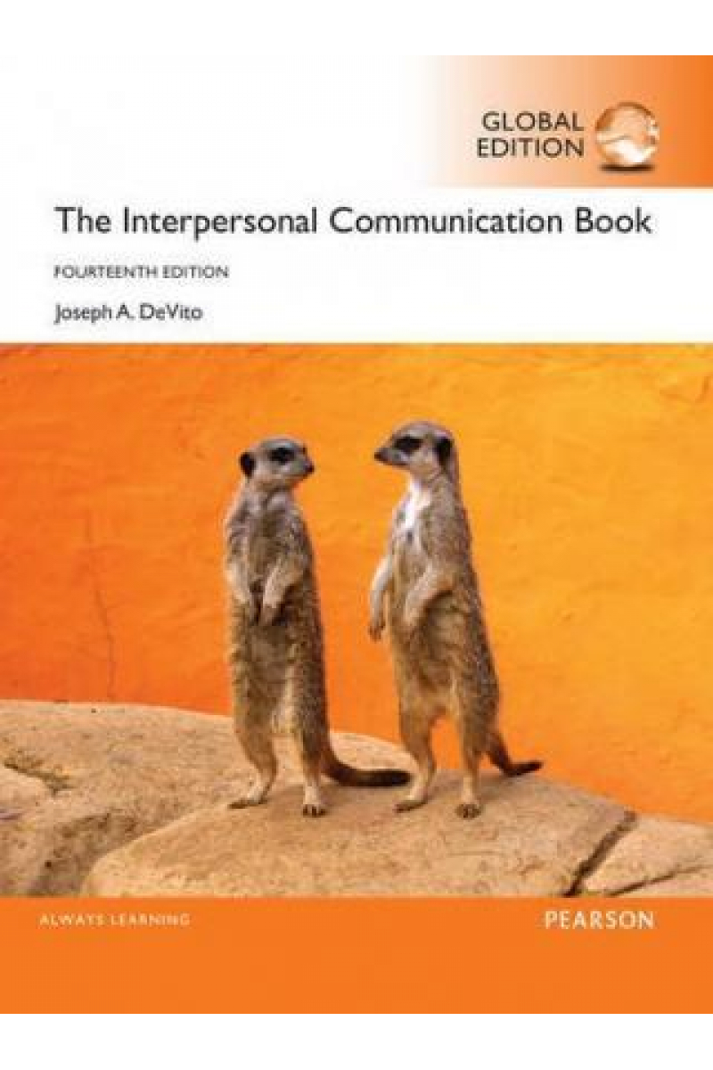 the interpersonal communication 14th (joseph a. devito)