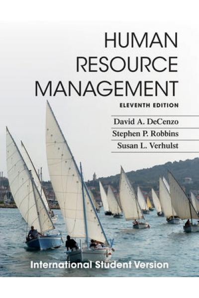 Human Resource Management 11th (David A. Decenzo) Human Resource Management 11th (David A. Decenzo)