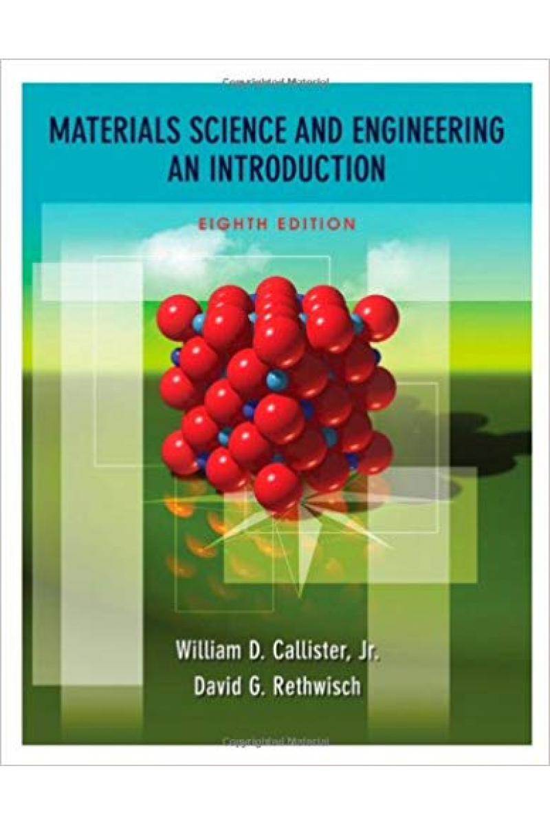 materials science and engineering 8th (william d. callister, david g. rethwisch)