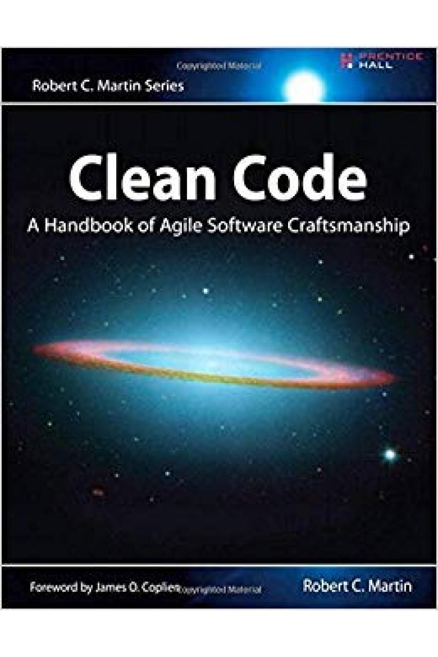 clean code (robert martin)