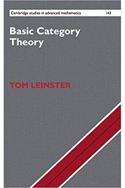 basic category theory (tom leinster)