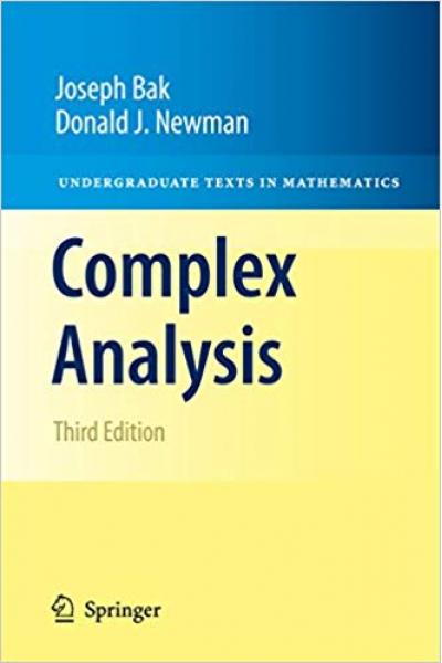 complex analysis 3rd (joseph bak, donald j. newman)