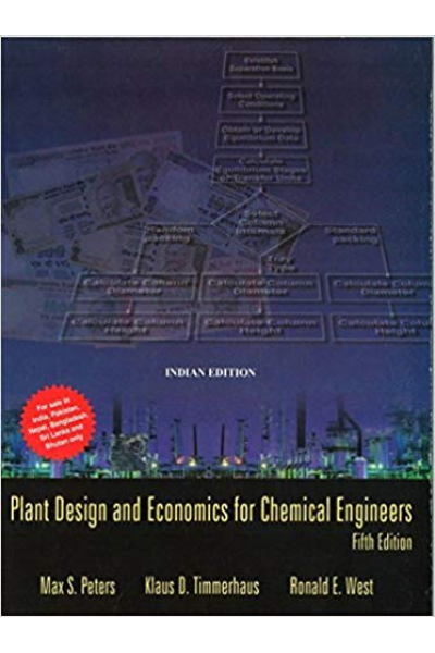 plant design and economics for chemical engineers 5th (peters, timmerhaus, west)