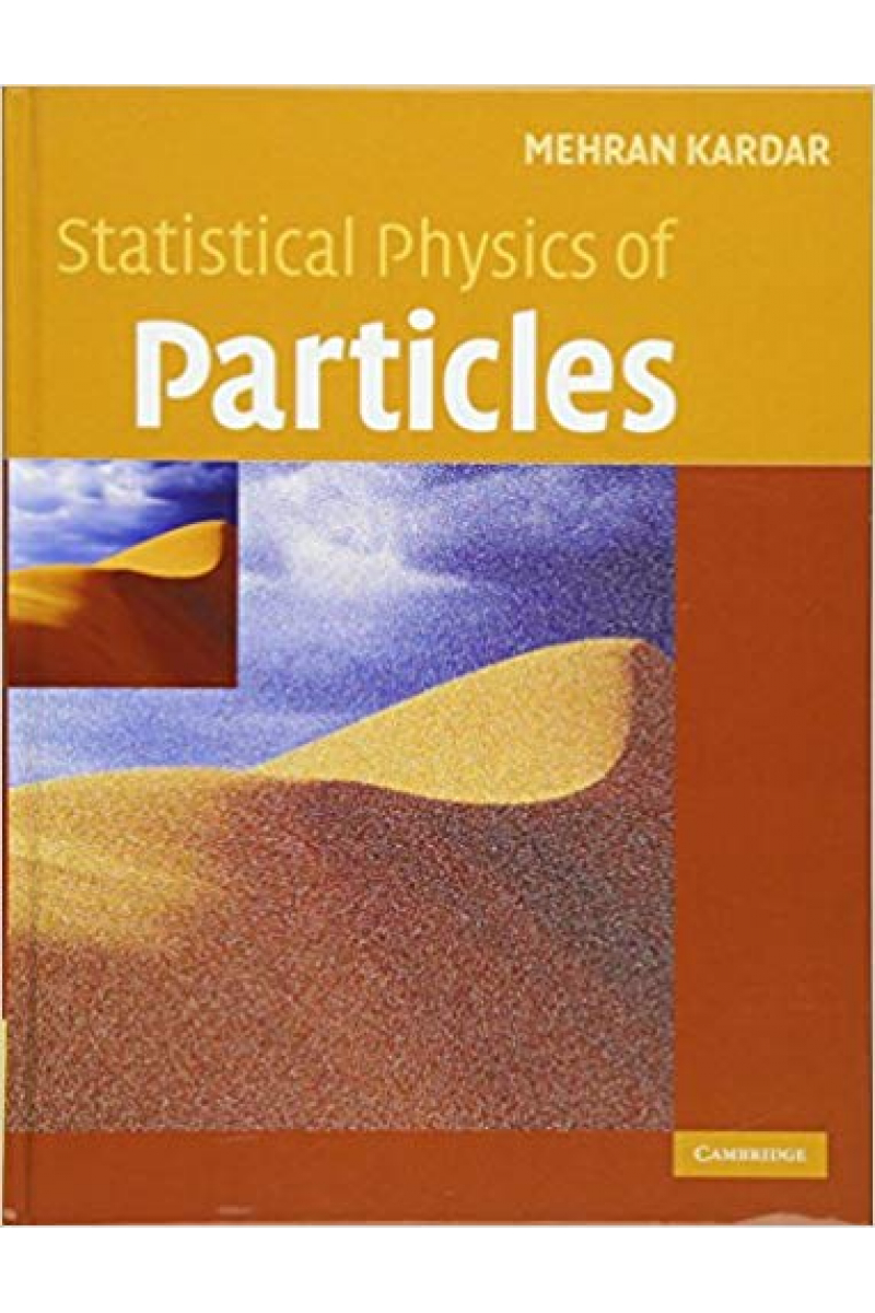 statistical physics of particles (mehran kardar)