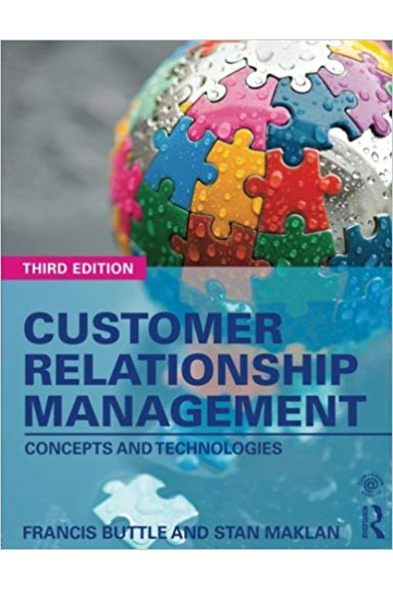 customer relationship management 3rd (buttle, maklan)