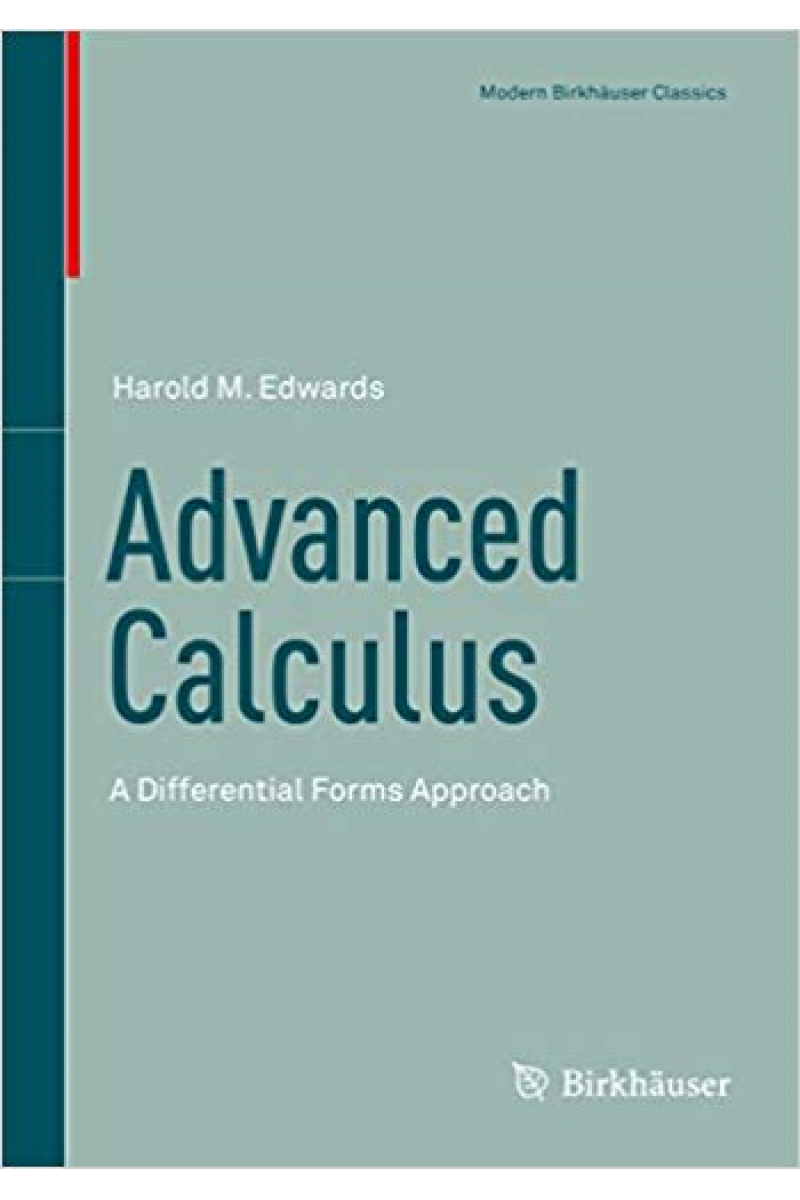 advanced calculus 1994 (harold edwards)