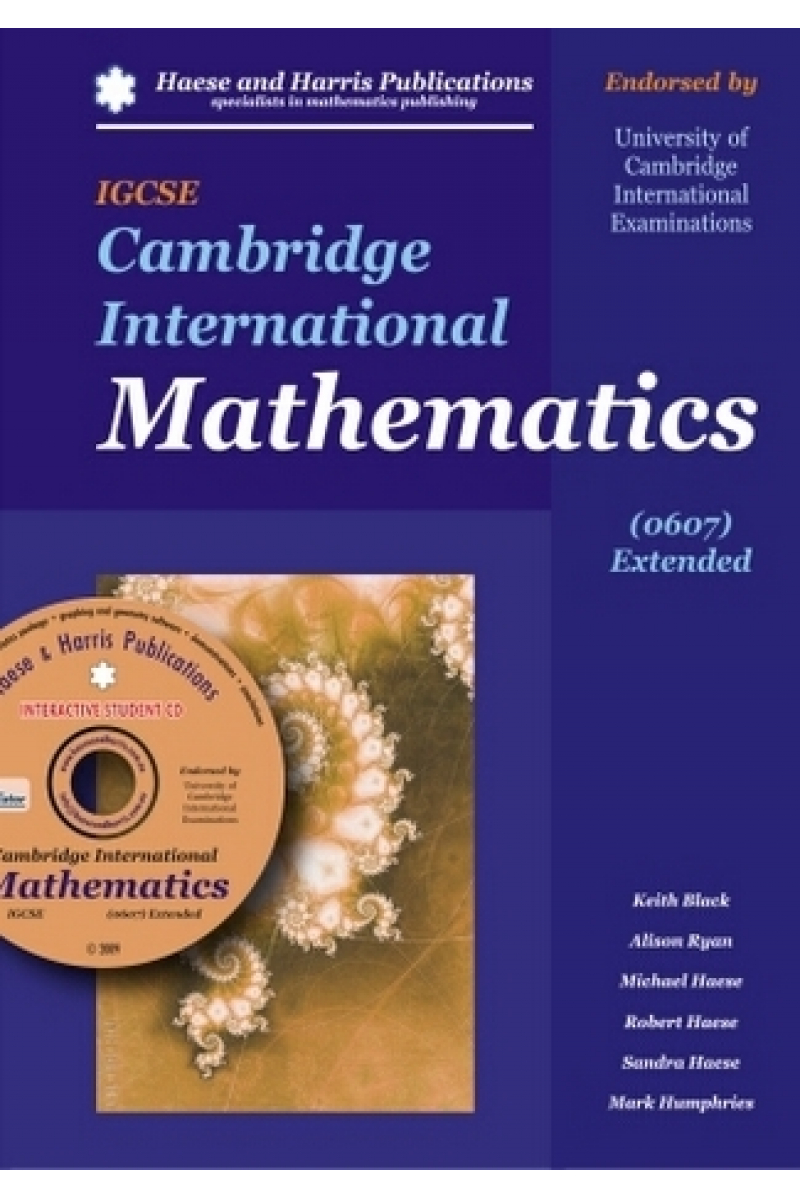 IGCSE cambridge international mathematics (black, ryan, haese)