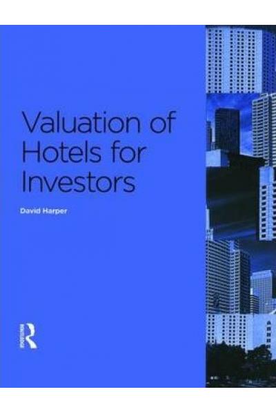 Bookstore valuation of hotels for investors (david harper)