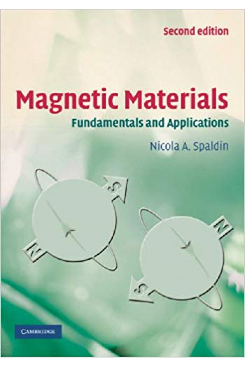 magnetic materials 2nd (spaldin)