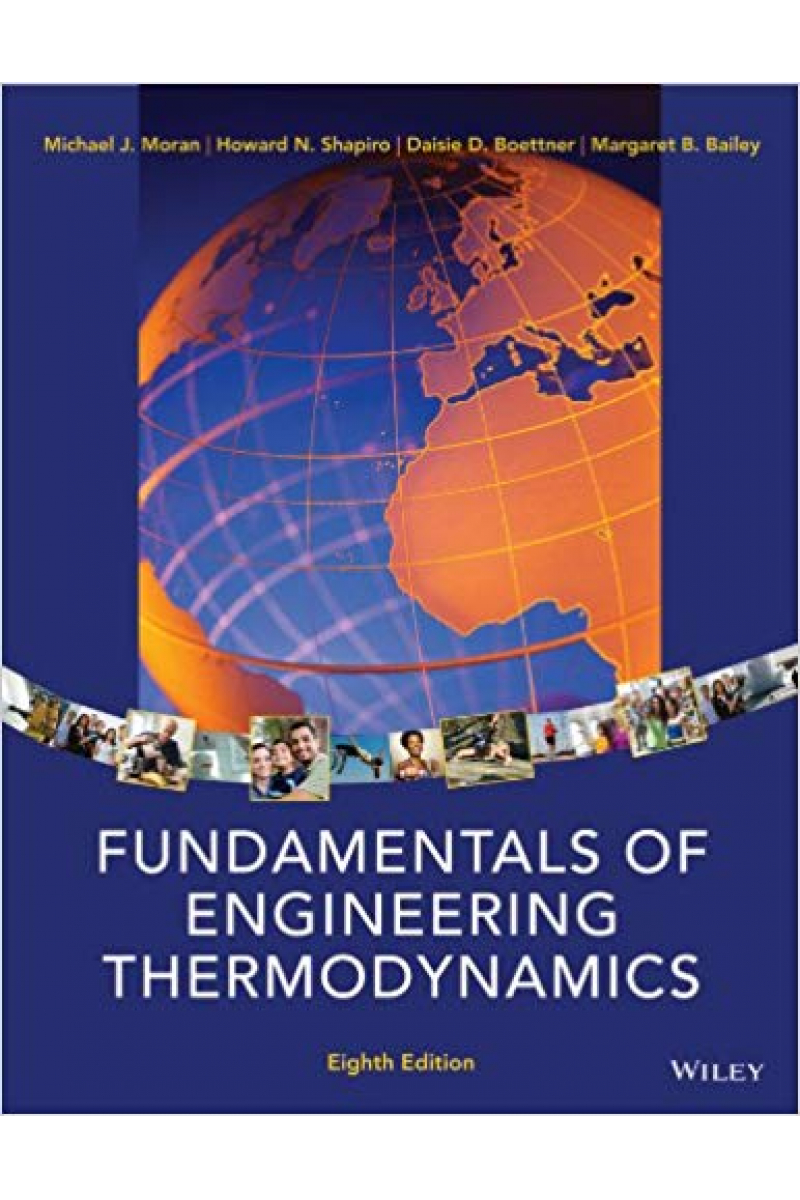 fundamentals of engineering thermodynamics 8th (moran, shapiro, boettner, bailey)