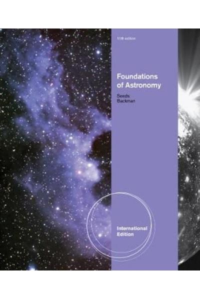 foundations of astronomy 11th (michael seeds, dana backman)