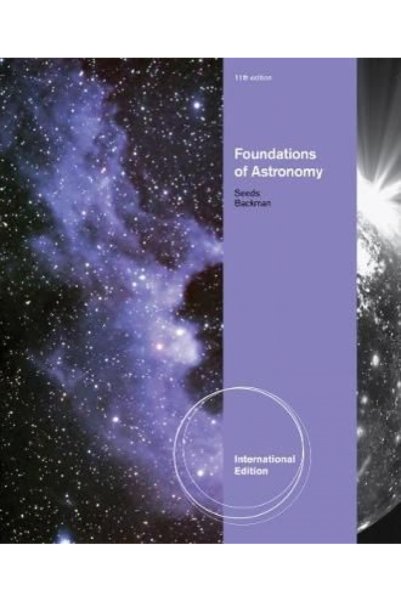 foundations of astronomy 11th (michael seeds, dana backman)