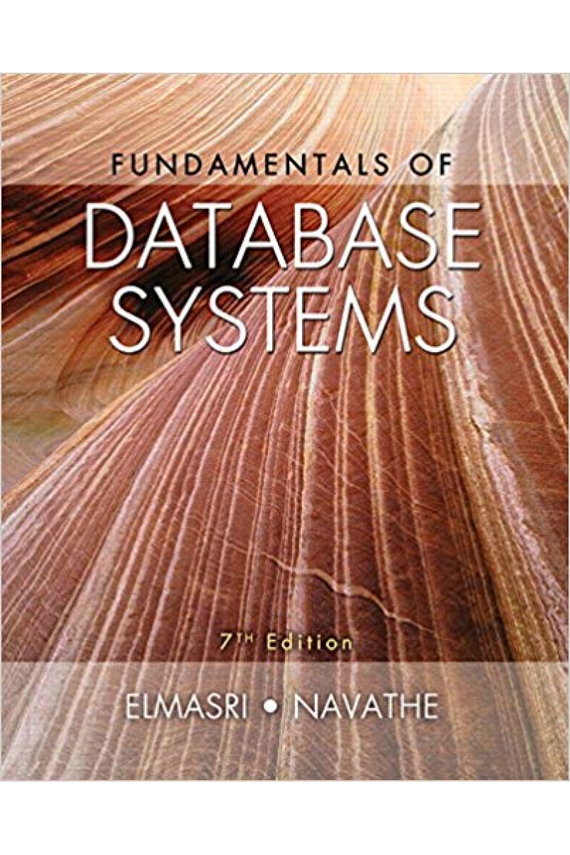 fundamentals of database systems 7th (elmasri, navathe)