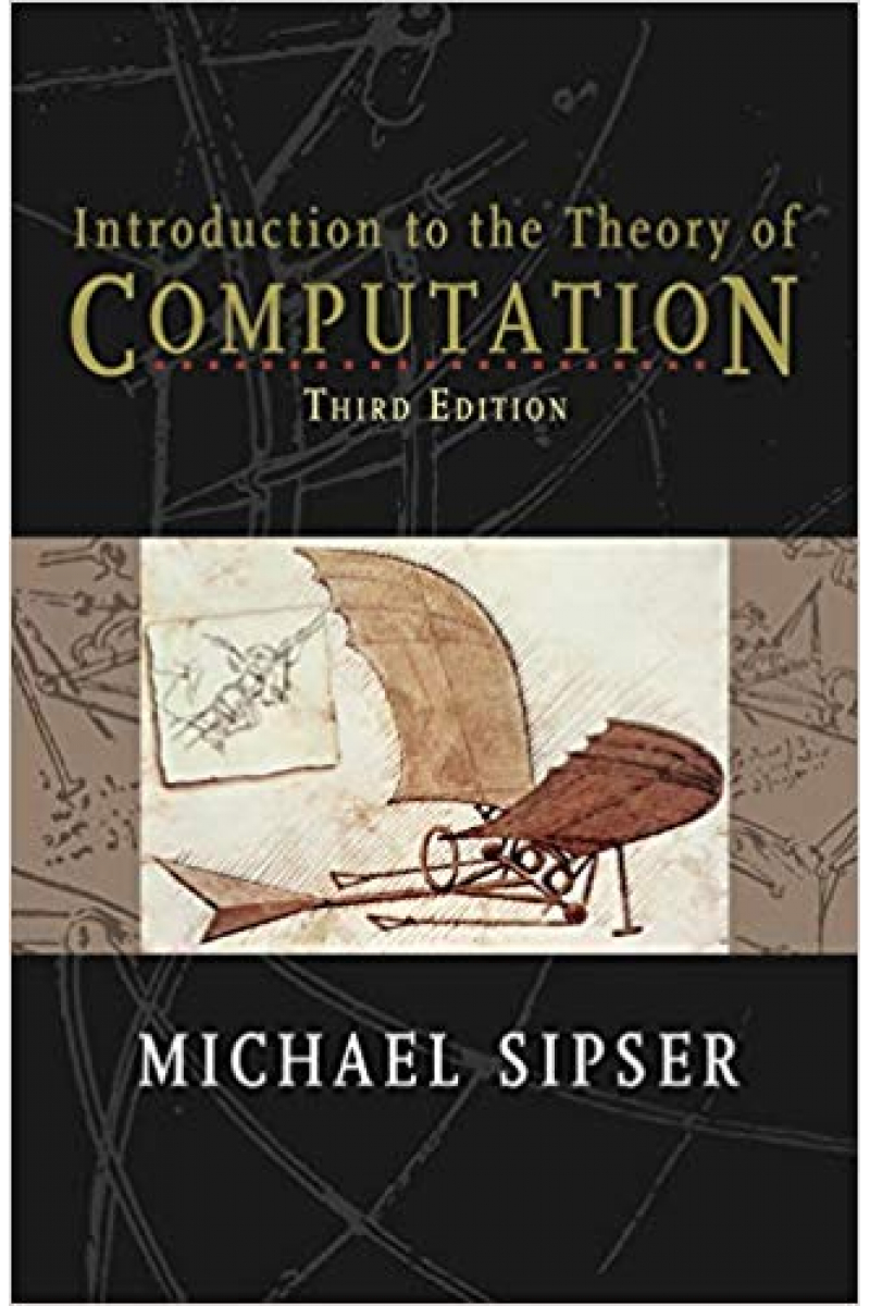 Introduction to the Theory of Computation 3rd Edition