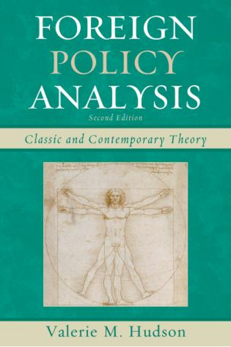 foreign policy analysis 2nd (hudson)