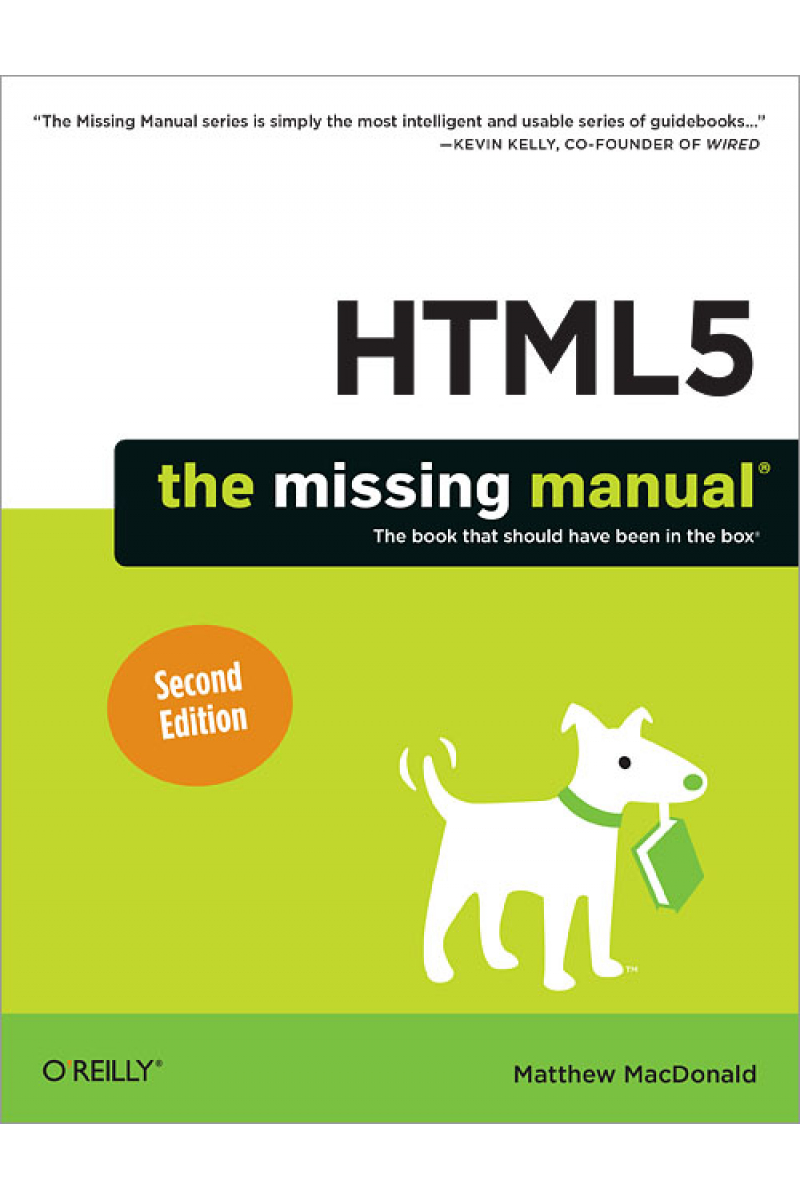 HTML5 the missing manual 2nd (macdonald)