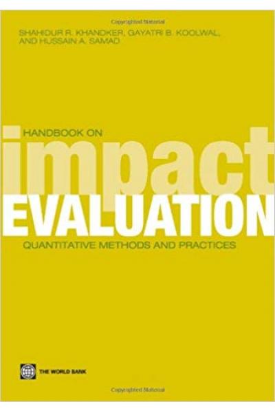handbook on impact evaluation (khandker, koolwal, samad)