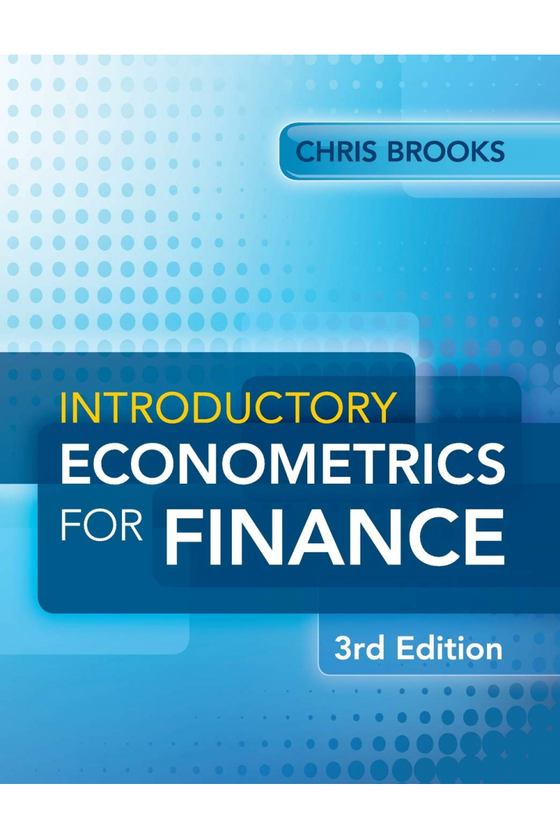 introductory econometrics for finance 3rd (chris brooks)