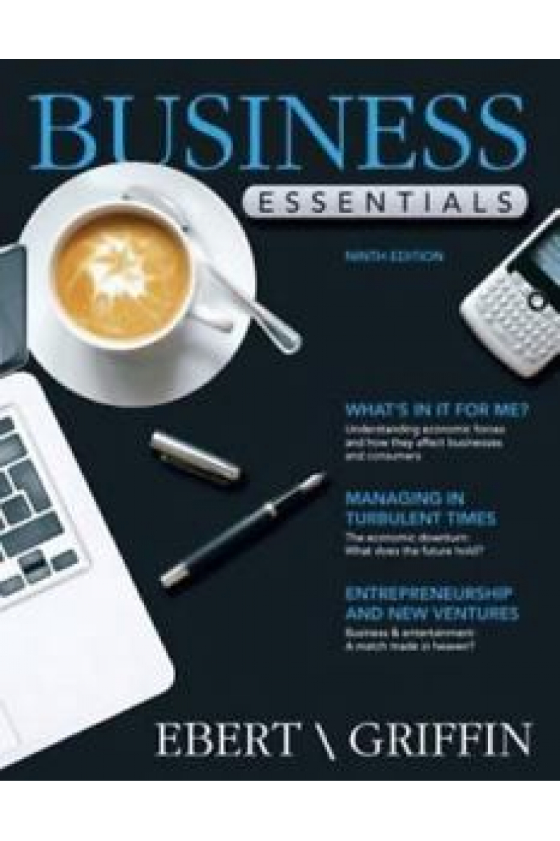 business essentials 9th (ronald ebert, ricky griffin)