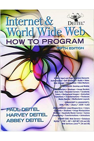 internet & world wide web how to program 5th (deitel, deitel)
