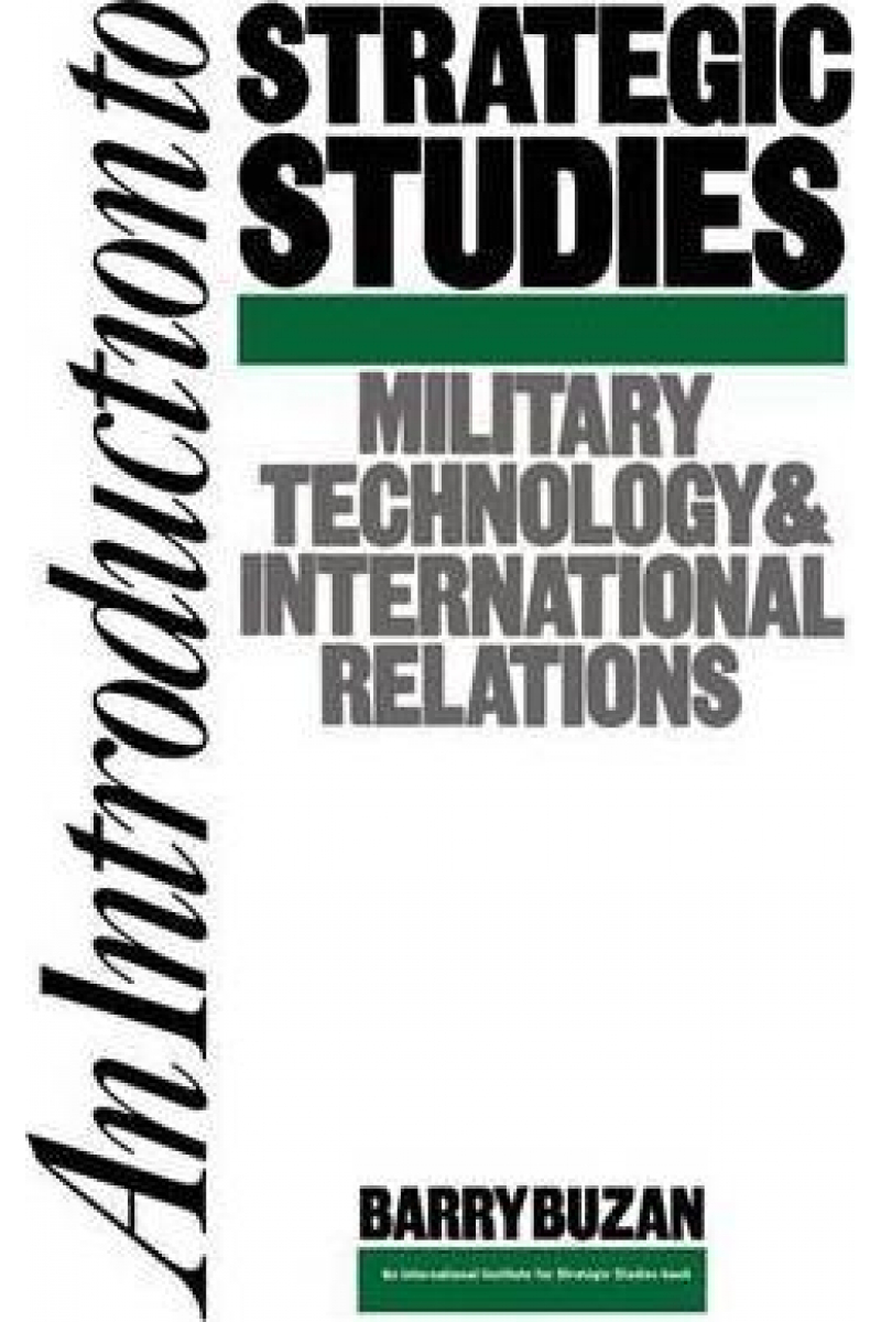 an introduction to strategic studies (buzan)