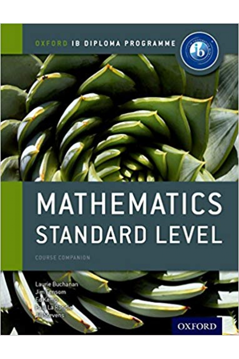 mathematics standard level (buchanan, fensom, kemp)