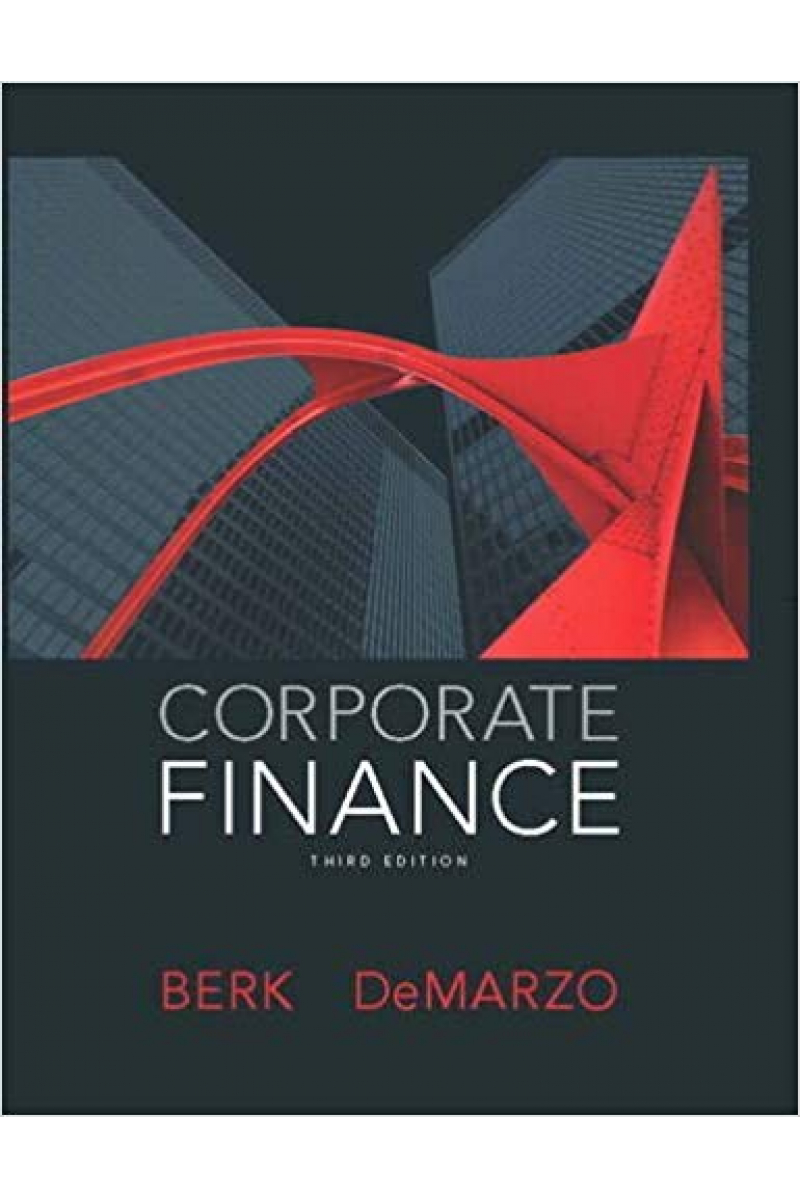 corporate finance 3rd (jonathan berk, peter demarzo)