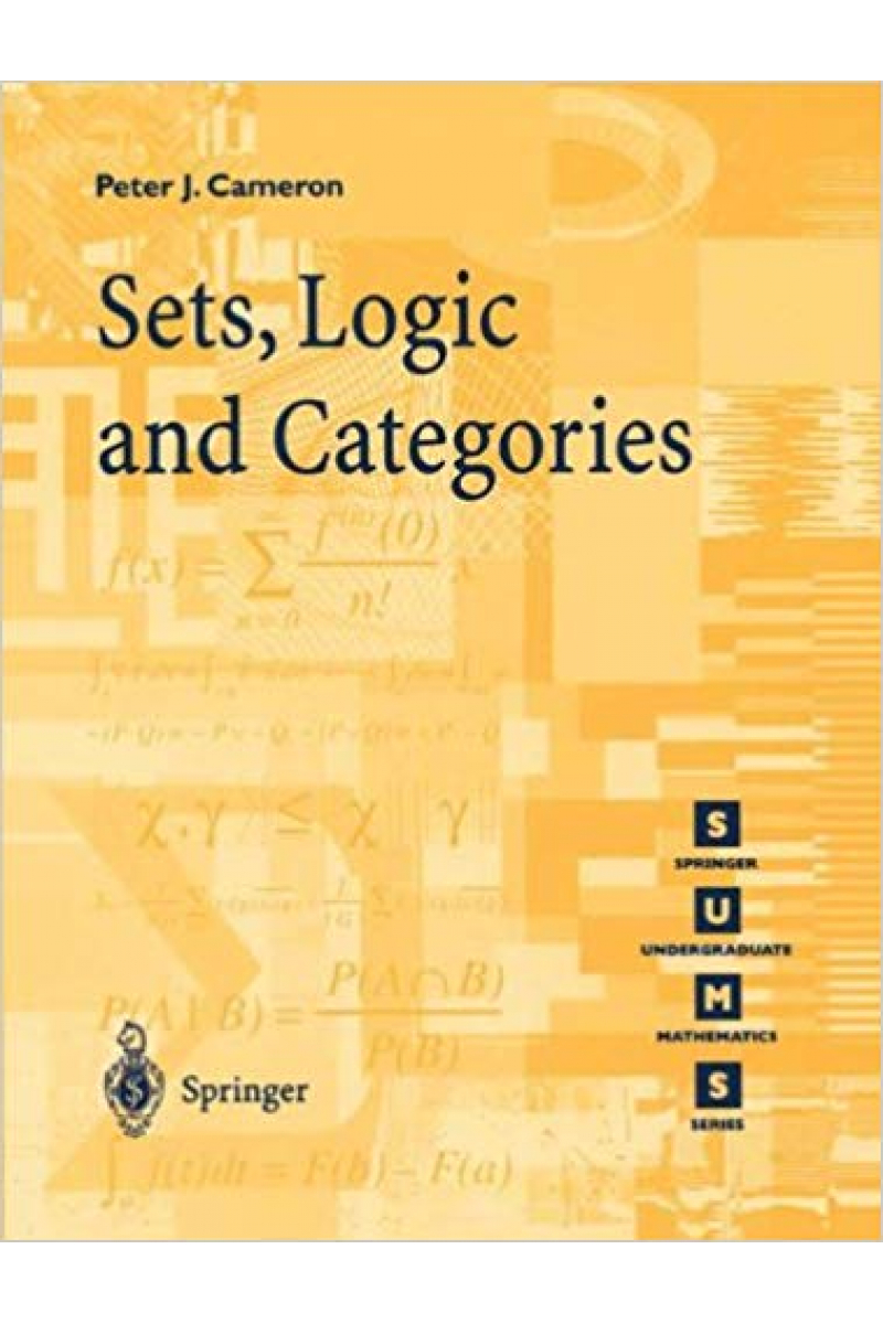 sets, logic and categories (peter j. cameron)