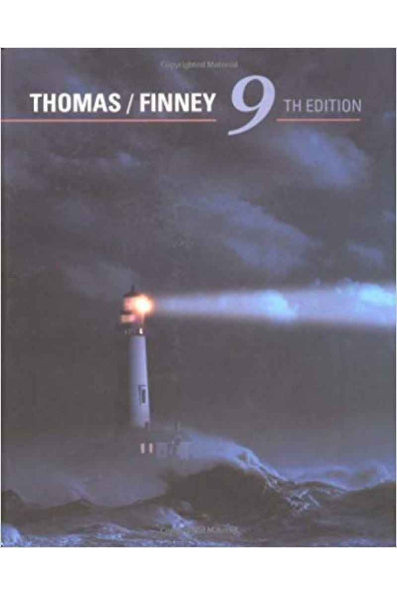 calculus and analytic geometry 9th (thomas, finney)