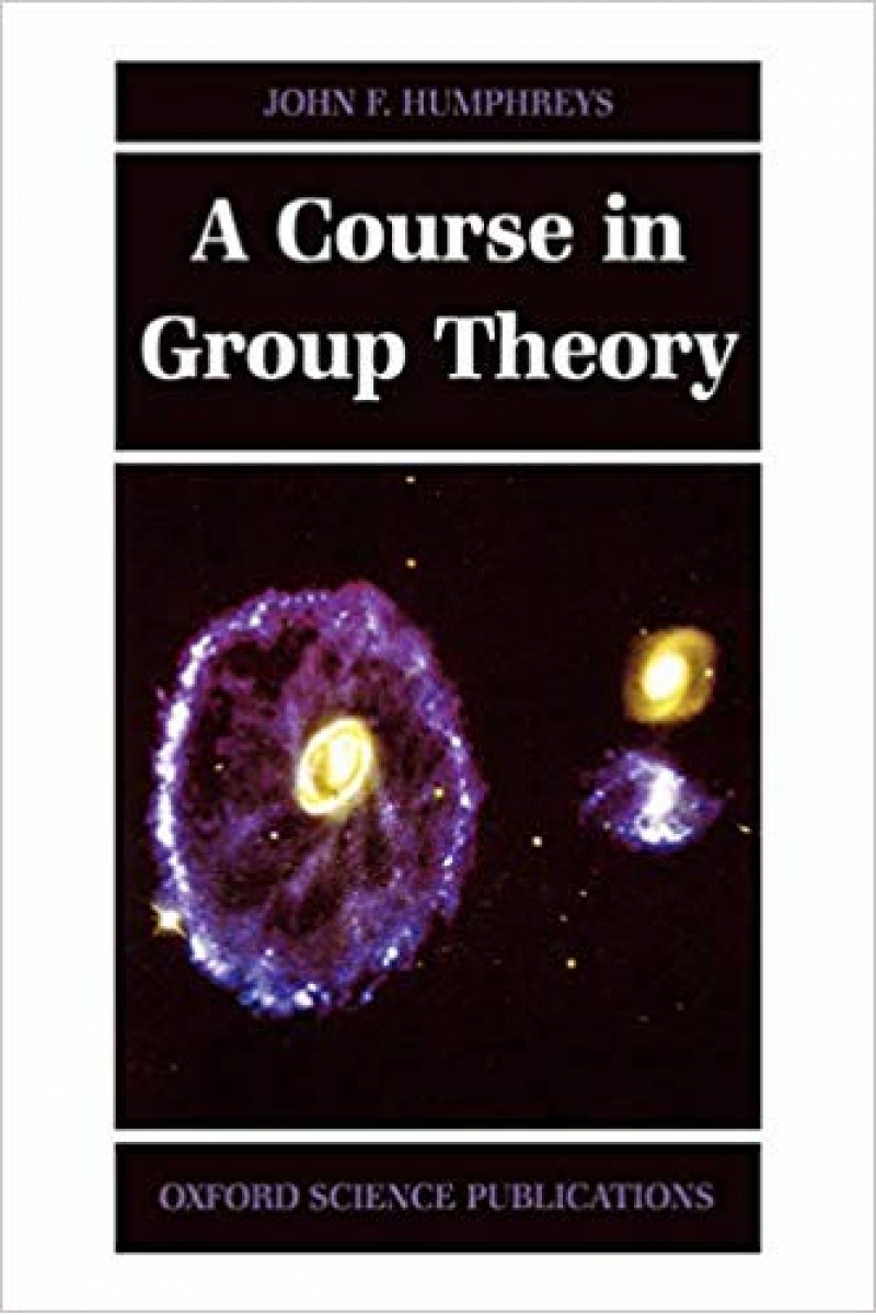 a course in group theory (humphreys)