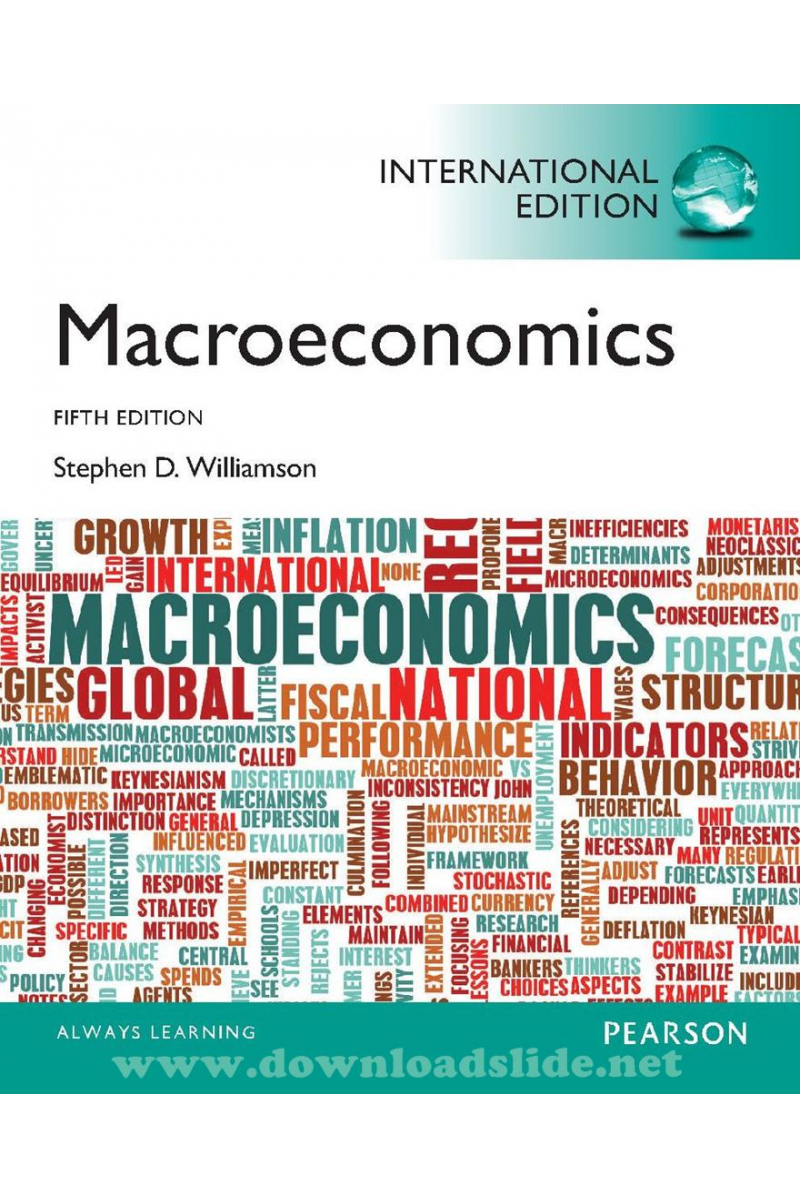 macroeconomics 5th (stephen williamson)