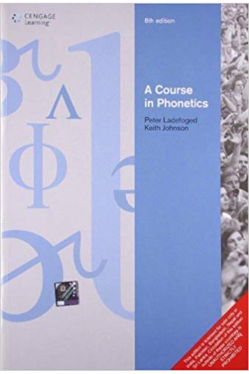 a course in phonetics 6th (peter ladefoged, johnson)