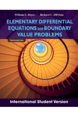Bookstore elementary differential equations 10th (william e. Boyce)