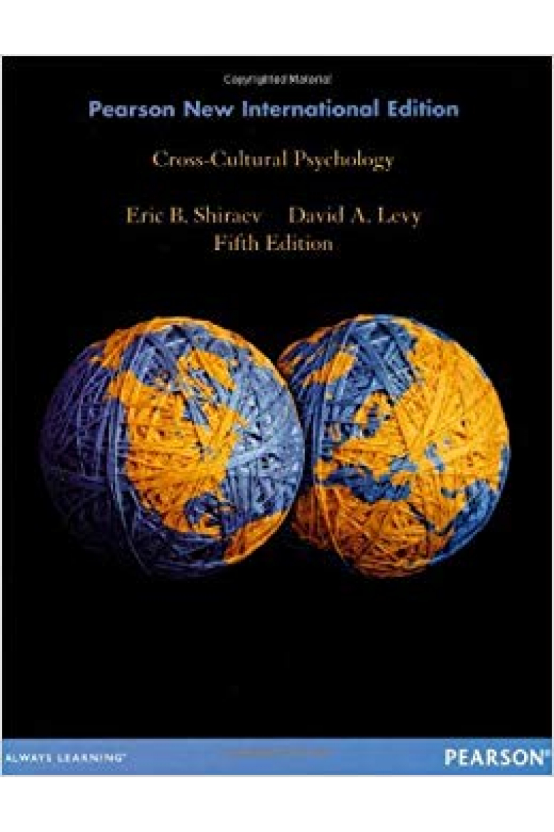 cross cultural psychology 5th (shiraev, levy)