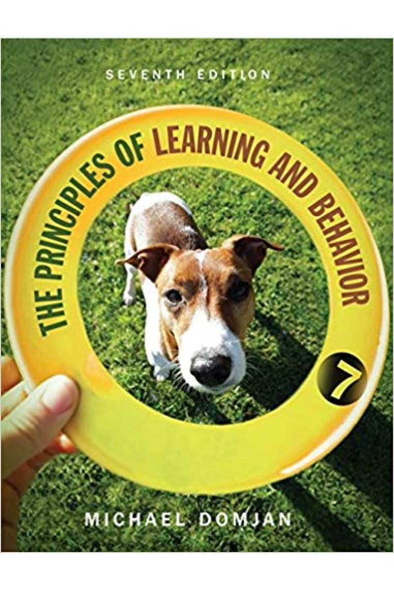 the principles of learning and behavior 7th (michael domjan)