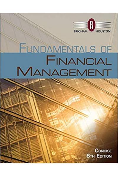 fundamentals of financial management 8th (brigham, houston)