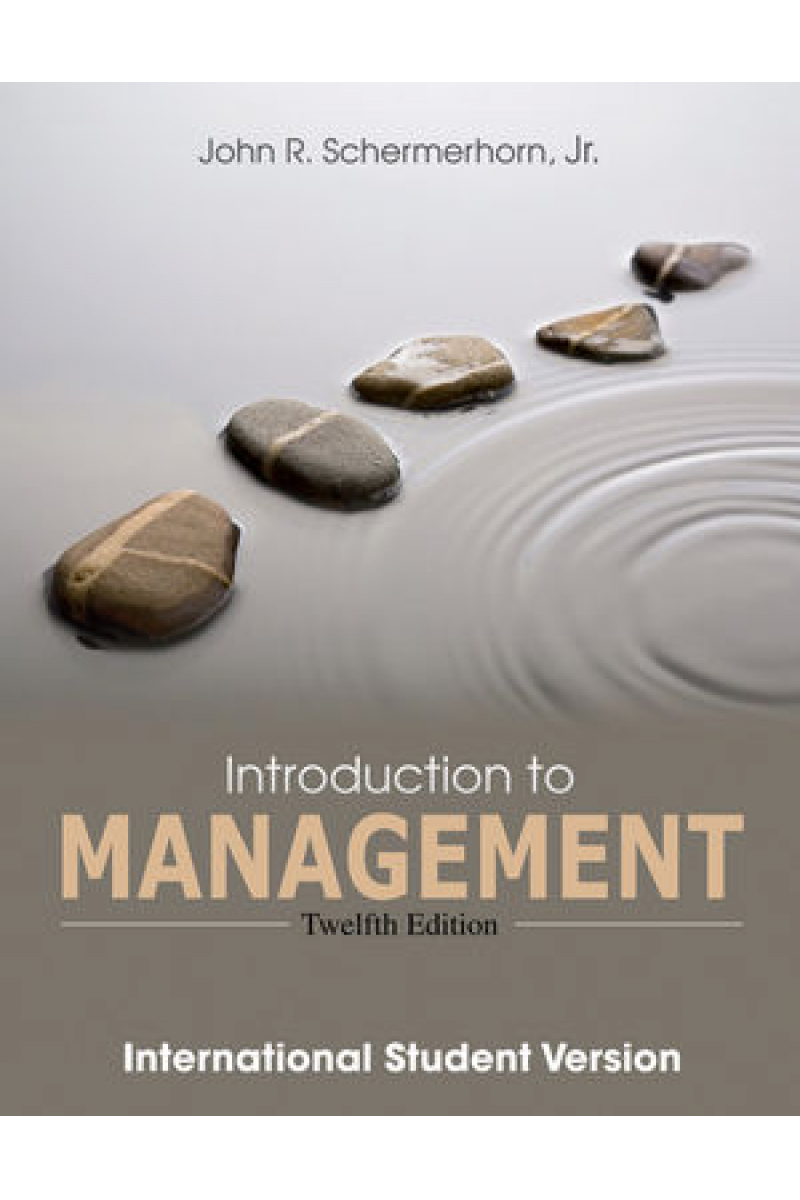 introduction to management 12th (john schermerhorn)
