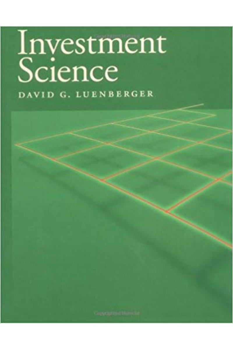 investment science (david g. luenberger)