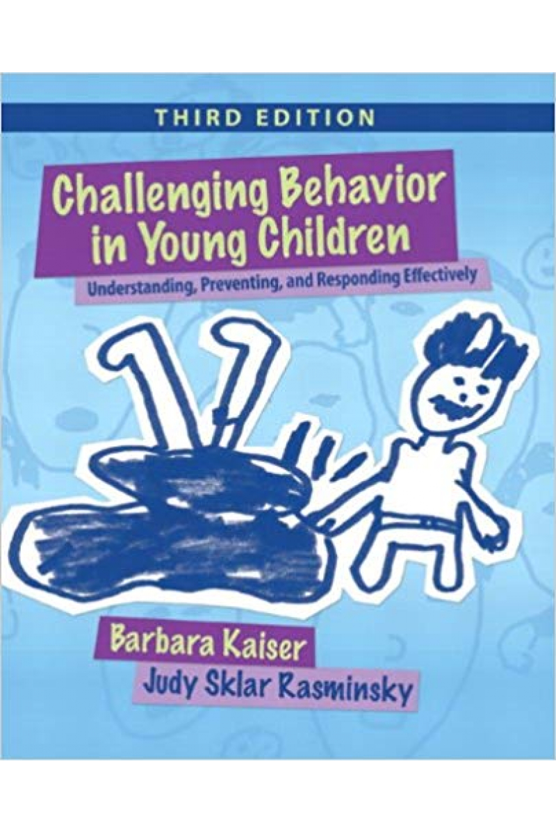 challenging behavior in young children 3rd (kaiser, rasminsky)