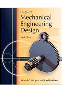 shigley's mechanical engineering design 9th (budynas, nisbett)