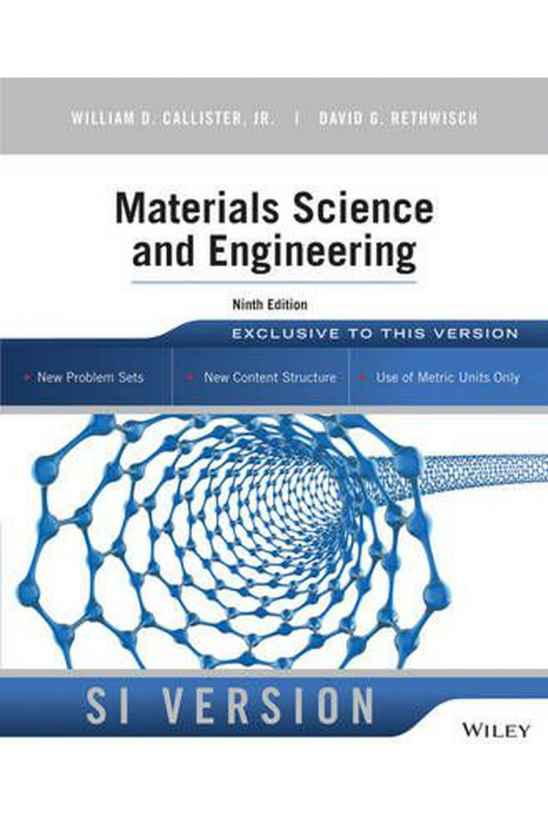 materials science and engineering 9th (callister, rethwisch)