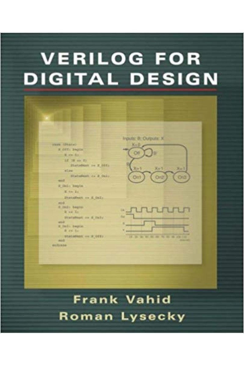 verilog for digital design (frank vahid, roman lysecky)