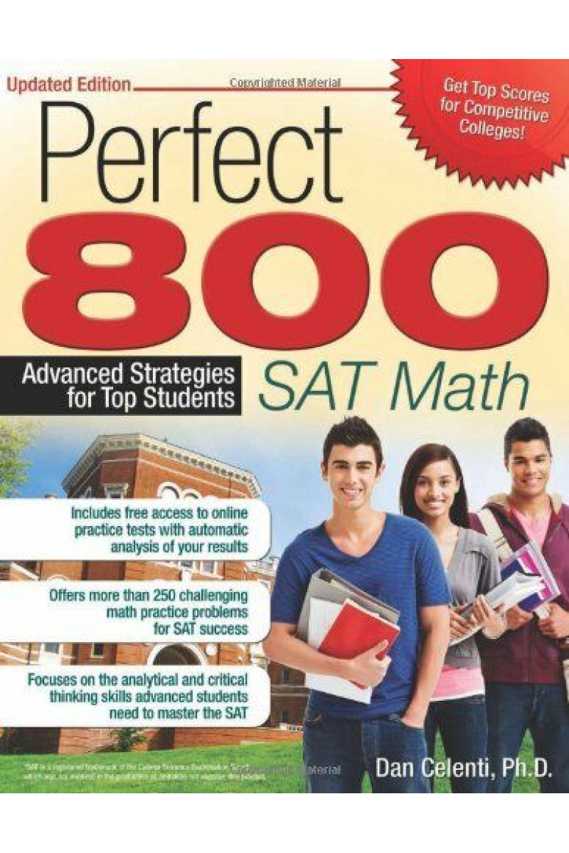perfect 800 SAT math updated edition (dan celenti) 2014