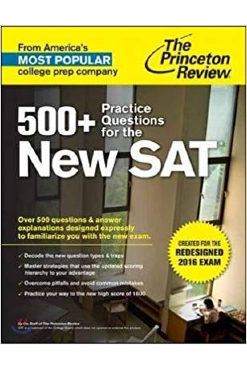 500+ practice questions for the new SAT 2015