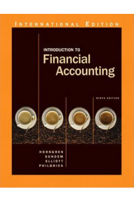 Bookstore introduction to financial accounting 9th (charles t. horngren, gary l. sundem)