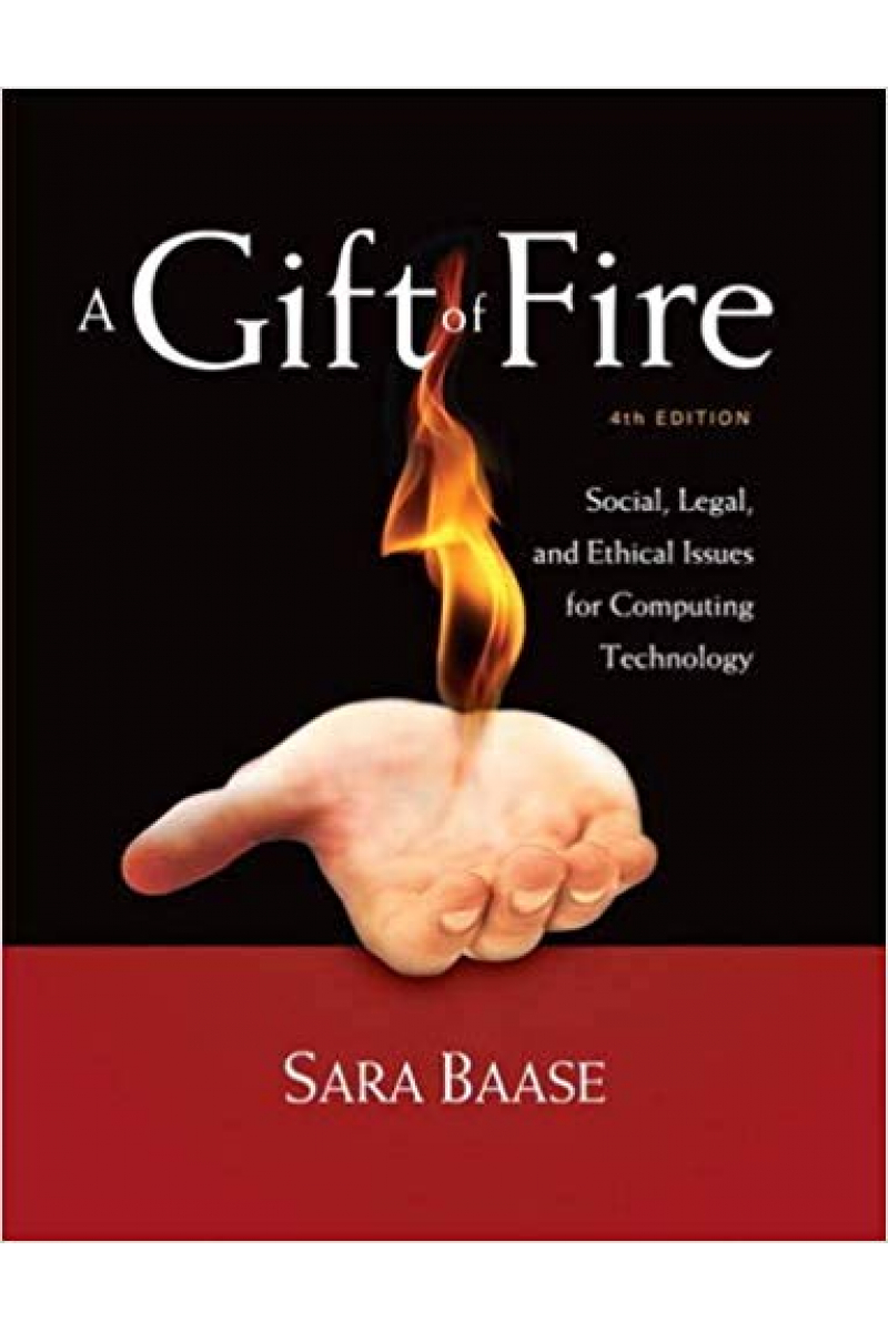 a gift of fire 4th (sara baase)