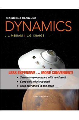 Bookstore engineering mechanics dynamics seventh 7th (meriam, kraige)