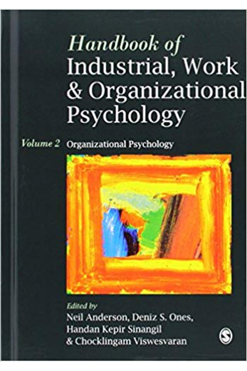 industrial work and organizational psychology volume 2 (anderson, ones, viswesvaran)