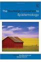the routledge companion to epistemology (bernecker, pritchard)