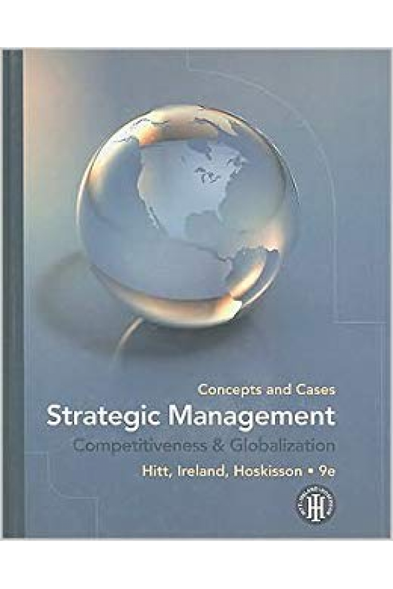 strategic management 9th (hitt, ireland, hoskisson) NO CASE